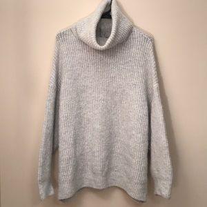 Zara Chunky Knit turtleneck Sweater
